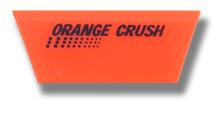 "5"" Angled Orange Crush Beveled Squeegee Blade - Soft"
