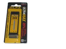Blades 13-Pt Olfa Ultra Max Carbon Steel Snap Off - 50 Pk