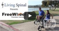 Freewheel for your wheelchair.