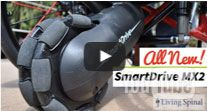 SmartDrive MX2 mounts to your wheelchair