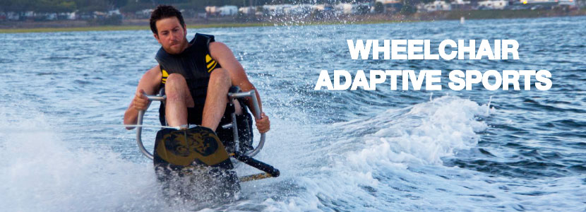 Wheelchair Wakeboarding