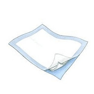 "SureCare Disposable Blue Chux Underpad, 17""x 24"" [Pack of 36]"