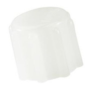 Shiley Decannulation Cap for Trach - Universal 15mm White