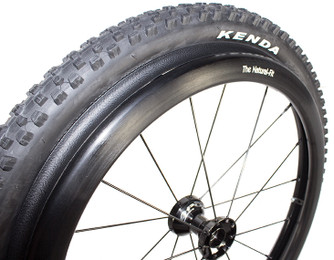 Kenda Nevegal Black Knobby Terrain Wheelchair Tires