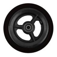 "4 x 1"" 3 SPOKE CASTER Urethane Round Tire"