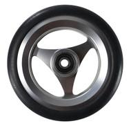 ALUMINUM Caster Wheel Urethane Round Tire