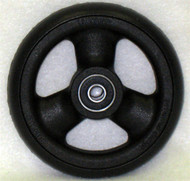 HOLLOW SPOKE Caster Wheel Urethane Pyramid Tire