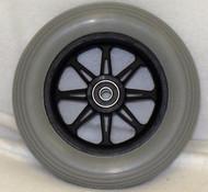 JAZZY 6 SPOKE Caster Wheel Molded On Tire