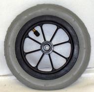 """8 x 1 1/4"""" 8 SPOKE CASTER 1 1/2"""" Hub Width Pneumatic Tire / Tube"""