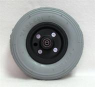 """8 x 2"""" STANDARD TWO PIECE CASTER 5/16"""" Bearings 2 1/2"""" Hub Width Foam Filled Tire"""