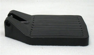 CENTER HINGE BLACK PLASTIC FOOTPLATE
