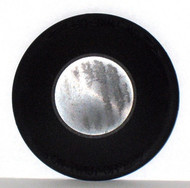 New Solutions LARGE BLACK Rear Wheel HUB CAP