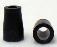 """Black Plastic Handrim 3/4"""" Spacer"""