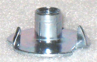 """3 POINT TEE NUTS 10-32, 1/4"""" BARREL 10 PACK"""