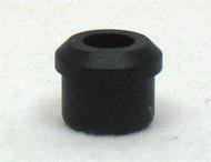 """Black Rubber BUMPER PLUG Fits E&J 7/8"""" Foot Rests"""
