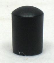 "Black TUBE END CAP Fits 7/8"" Tubing"
