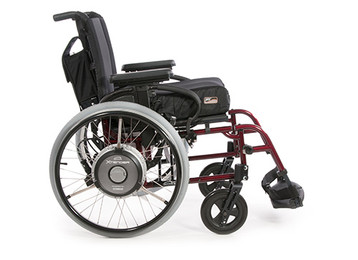 Quickie Xtender Power Assist Wheelchair Wheels Living Spinal