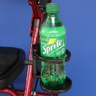 "1"" - SnapIt! Adjustable Foldaway Drink Holder for Wheelchairs"