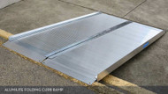 ALUMILITE Folding Curb Ramp