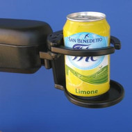SnapIt! Power Chair Adjustable Drink Holder with Tin