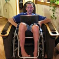 EZ Tipper Deluxe - Fully Upholstered Wheelchair Recliner