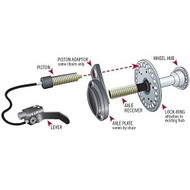 D's Locks Wheelchair Braking System