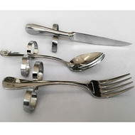 Dining with Dignity - Set #4: Fork, Spoon, & Steak Knife
