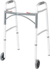 Delux Folding Walker - Drive Medical