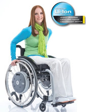 E-Motion M15 Power Assist Wheelchair Wheels profile shot