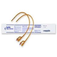 Bardia Silicone Elastomer Latex Foley 2-Way Catheter