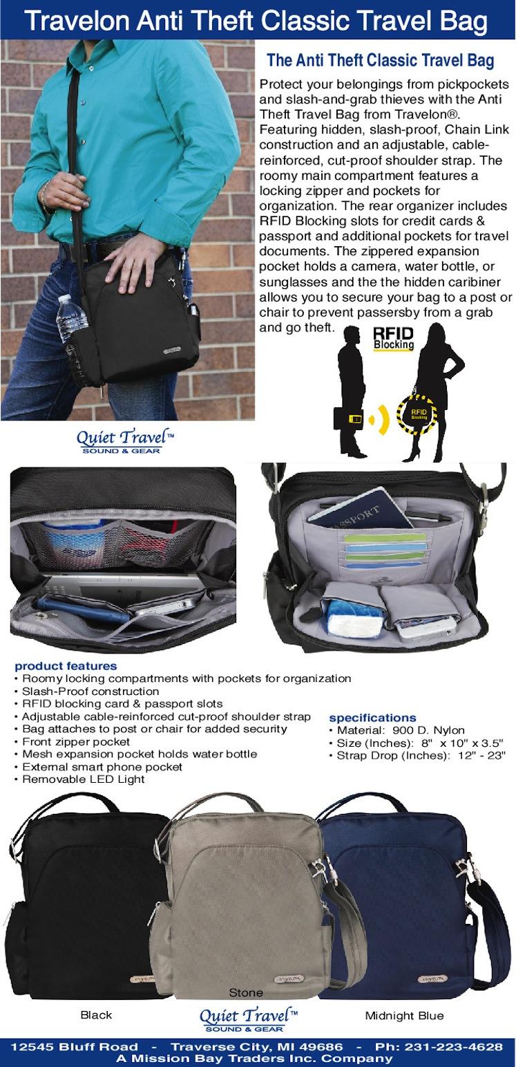 Travelon Anti Theft Classic Backpack Exclusive Colors e56e3f962f230