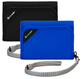 Pacsafe RFIDsafe™ V125 RFID Blocking Tri-Fold Wallet
