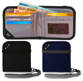 Pacsafe RFIDsafe™ V100 RFID Blocking Bi Fold Travel Wallet
