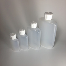 Flip-Top Oval Bottles