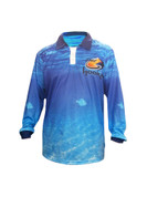 Fish Smart with our Sun Safe UV Protection Tournament Polo Shirt. Livin the Dream Design