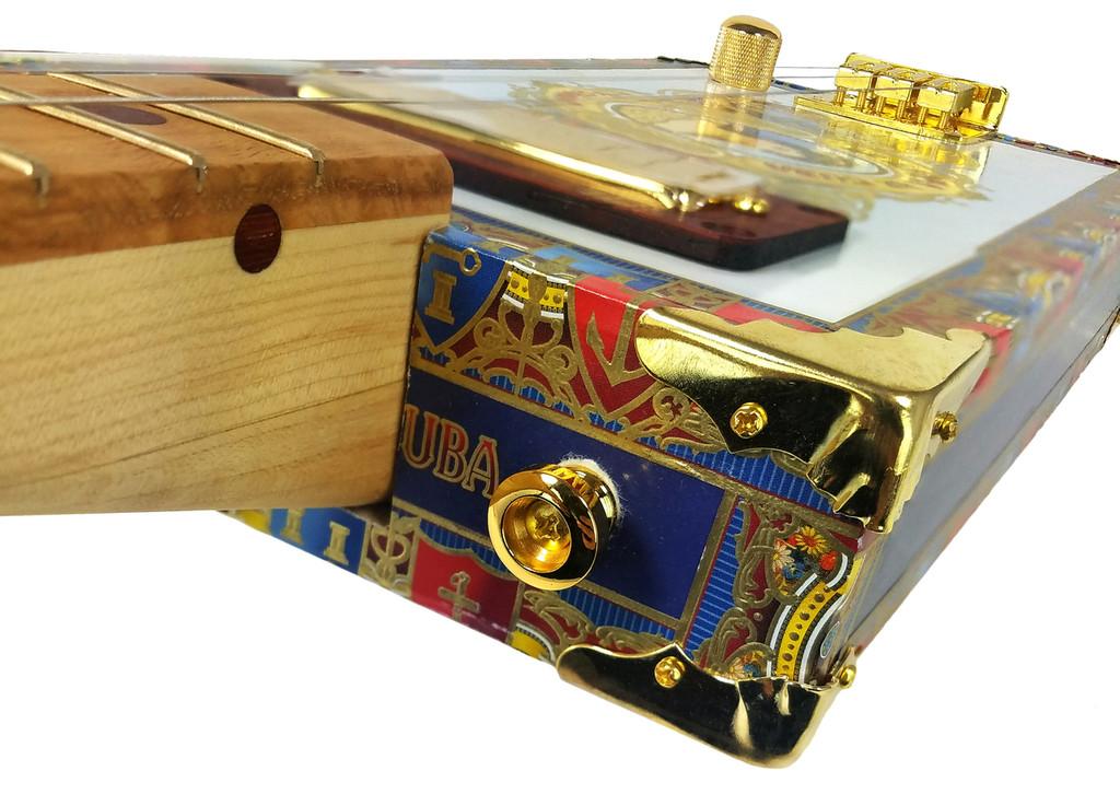 100pc. Bulk-pack Shiny Brass Box Corners with Screws (Crimped Back)