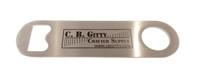 """Mini Stainless Steel C. B. Gitty """"Pub Style"""" Bottle Opener"""