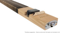 2x4 Lap Steel Guitar Kit - the DIY Slide Guitar - You supply the 2x4!
