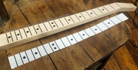 5-pack Clear Peel & Stick Fretboard Decals - 25-inch Scale