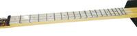 """White Pearloid Cigar Box Guitar (1.5"""") Acrylic Fretboard Underlay"""