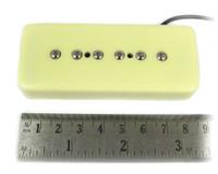 "The C. B. Gitty ""Soap Bar"" P90-Style Electric Guitar Pickup - Cream"