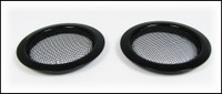 2pc. Black Screened Sound Hole Inserts