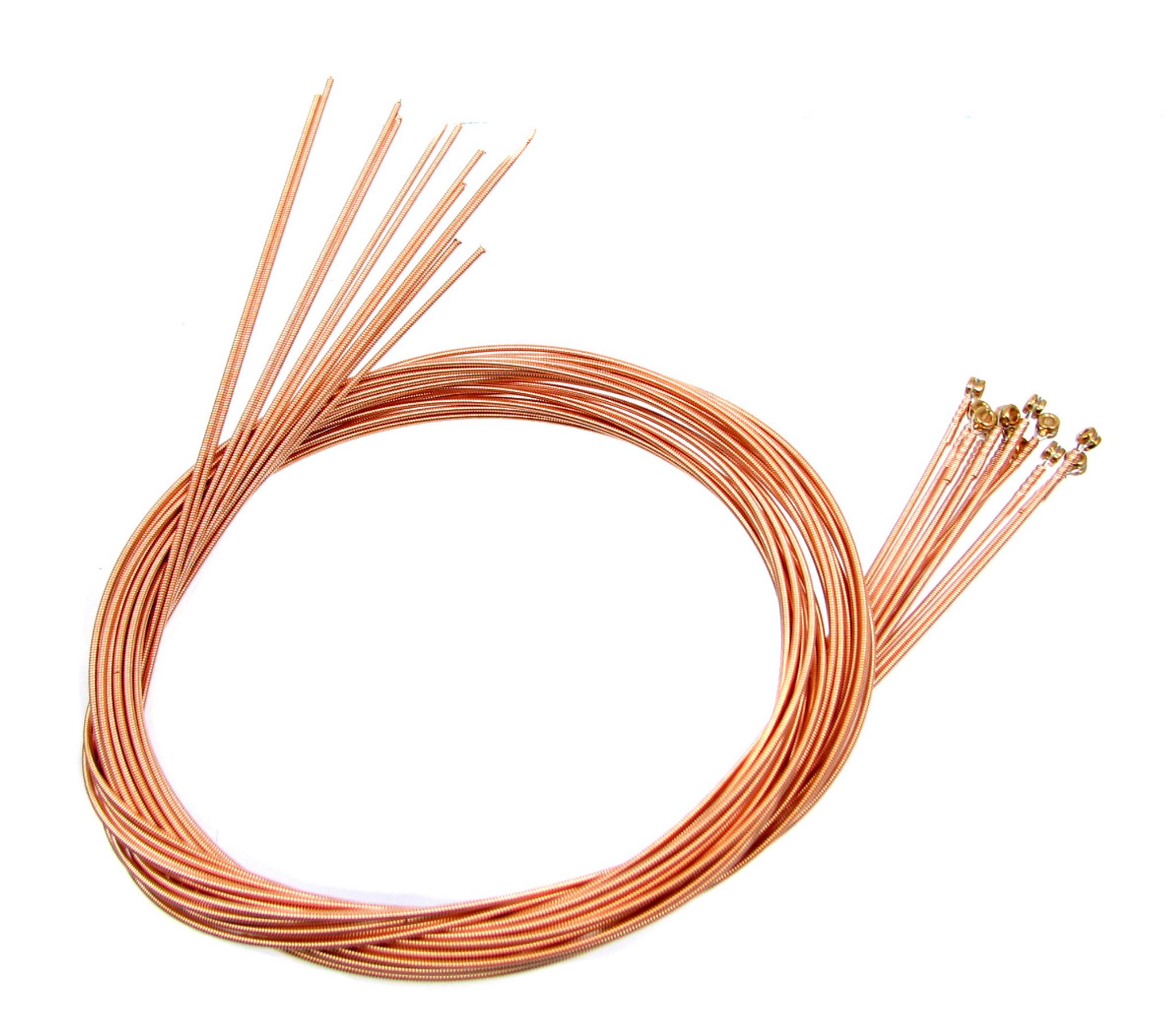 46 gauge 046 phosphor bronze wound guitar strings 12 pack c b gitty crafter supply. Black Bedroom Furniture Sets. Home Design Ideas