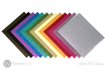"Glitter 12""x20"" Heat Transfer Sheets"