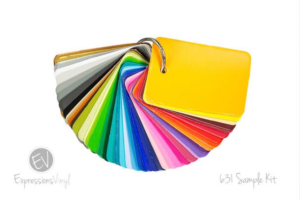 Oracal 631 - Color Sample Kit