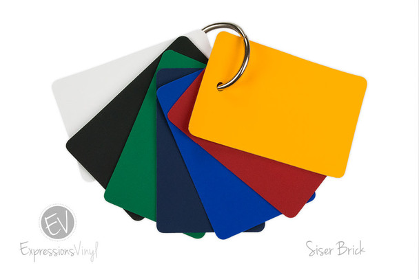 Brick 600 Heat Transfer - Color Sample Kit