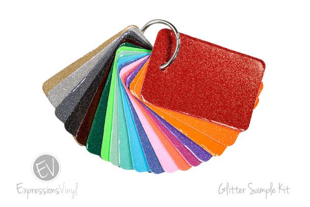 Glitter Vinyl - Color Sample Kit