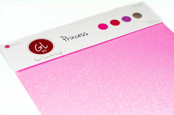 Princess Pack - Glitter Heat Transfer