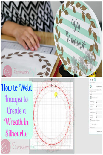 How to Weld Images Using Silhouette