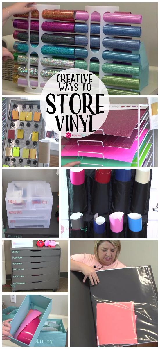 Creative Ways To Store Vinyl Expressions Vinyl